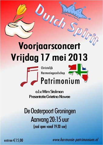 flyer concert Patrimonium