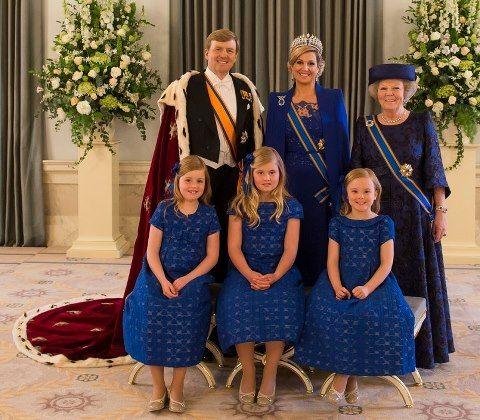 25 sept Kleren Koninklijke familie 30 april 2013