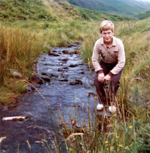 Nico in Wales 1980