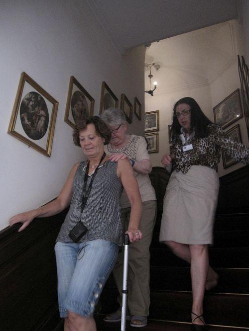 Huis Doorn trap
